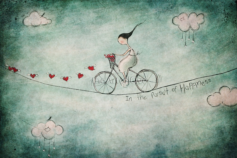In the pursuit of happiness by Amanda  Cass