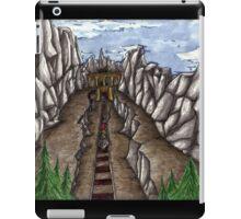 Mines and trains iPad Case/Skin