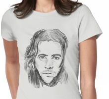 desmond hume  Womens Fitted T-Shirt