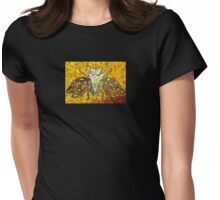 insect fossil -liquid amber Womens Fitted T-Shirt