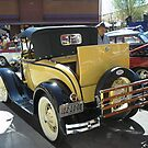 1930's Ford Coupe by Ann Warrenton