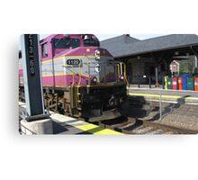 1120 MBTA Commuter Rail Canvas Print
