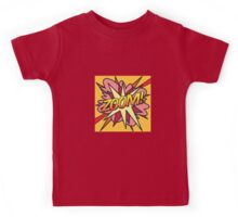 Comic Book ZOOM! Kids Tee