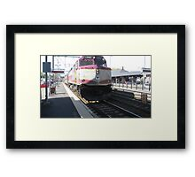 1062 MBTA Commuter Rail Framed Print