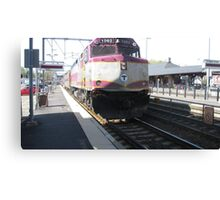 1062 MBTA Commuter Rail Canvas Print