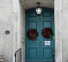 Double Doors To Historic Home by kkphoto1