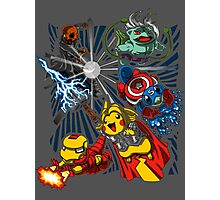Pokevengers t shirt, iphone case & more Photographic Print