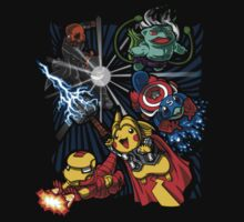 Pokevengers t shirt, iphone case & more by Shakira Ahmed