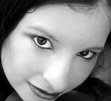 Portraiture of Black and White Beauty by CajunBeauty