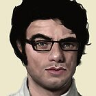 Jemaine's Saucy Eyebrow by Seahorse Carousel