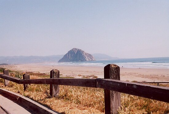 Morro Bay Rock Morro Bay Central California Southwest United States View by Rick Short