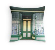 Lovely old Shop - Koroit, Vic - Circa 1900 Throw Pillow