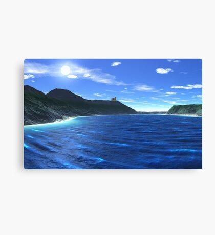 Newberry Castle Bay Canvas Print