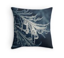 Magical Droplets Throw Pillow