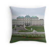 Upper Belvedere, Vienna Austria Throw Pillow