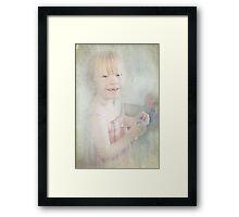 Her Smile Framed Print