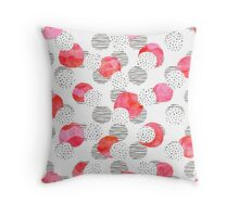 Flamingo Pink Throw Pillow