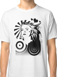 Holly BW Classic T-Shirt