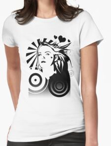 Holly BW Womens Fitted T-Shirt