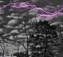 Surealistic Lightning. by Tim Bell