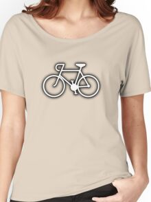 Simple Bicycle Women's Relaxed Fit T-Shirt