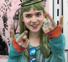 Grimes /// Sticker