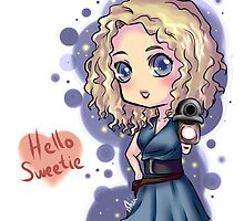 Chibi River Song   by midnight-tardis