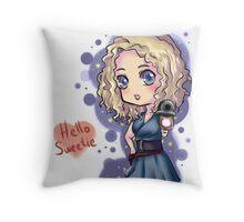 Chibi River Song   Throw Pillow
