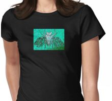 insect fossil -jade Womens Fitted T-Shirt