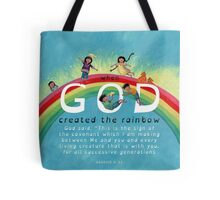God's Rainbow Tote Bag