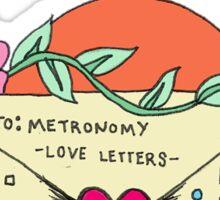 Metronomy Sticker