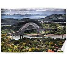 Bridge of the Americas - Puente de Las Americas Poster