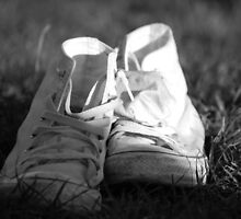 White Converse by Amanda Huggins