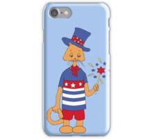 Yankee Doodle Kitty iPhone Case/Skin