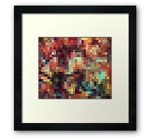 Nature Pixels No 11 Framed Print