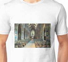 Lichfield Cathedral, The Nave Unisex T-Shirt