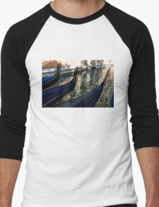 Venetian Gondolas Men's Baseball ¾ T-Shirt