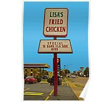 Lisa's Fried Chicken Poster
