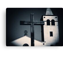 In The Name Of God Canvas Print