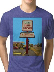 Lisa's Fried Chicken T-Shirt Tri-blend T-Shirt