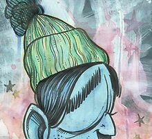 Beanie by Damian King