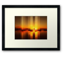 Nature Pixels No.19 Framed Print