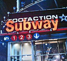 Subway Sign by Danny Drexler