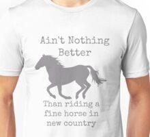 Fine Horse Unisex T-Shirt