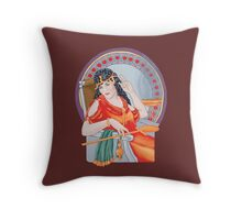 Tarot Heirophant Throw Pillow