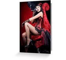 Burlesque Greeting Card
