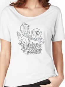 Gruesome Twosome - It's always sunny in Philadelphia fan art Women's Relaxed Fit T-Shirt