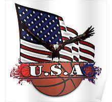 USA Basketball Poster
