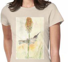 Amethyst Sunbird female Womens Fitted T-Shirt