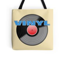 Vinyl  Record 4 Logo Tote Bag
